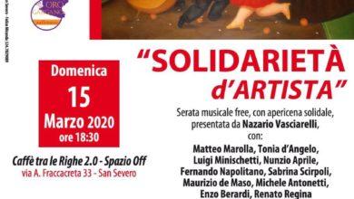 Photo of APERICENA SOLIDALE AL CAFFÈ TRA LE RIGHE – il 15 Marzo 2020
