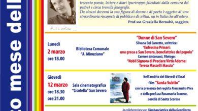 Photo of GIORNATA INTERNAZIONALE DELLA DONNA – 8 Marzo 2020