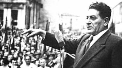 Photo of GIUSEPPE DI VITTORIO  E IL 23 MARZO 1950