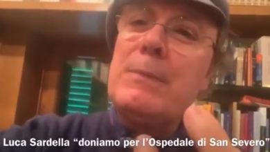 """Photo of (video) L'APPELLO DI LUCA SARDELLA """"DONIAMO TUTTI INSIEME PER L'OSPEDALE DI SAN SEVERO"""""""