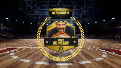 """Photo of CESTISTICA: I tifosi hanno scelto: è Mario Del Vicario la """"Leggenda"""" giallonera!"""