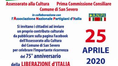 Photo of INTERESSANTE INIZIATIVA ON LINE PER LA GIORNATA DELLA LIBERAZIONE D'ITALIA.