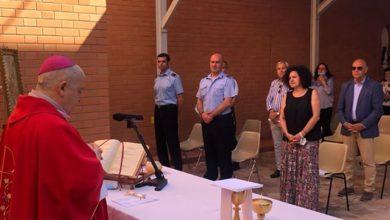Photo of Il Vescovo Checchinato al carcere per celebrare la festa di San Basilide Patrono della Polizia Penitenziaria