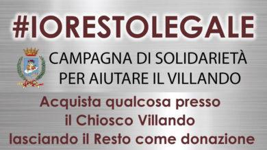 """Photo of """"RESTO LEGALE"""", IL SINDACO MIGLIO LANCIA UNA CAMPAGNA DI SOLIDARIETÀ PER AIUTARE IL VILLANDO."""