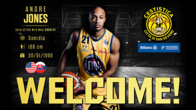 Photo of Colpaccio Cestistica: è in arrivo Andre Jones!