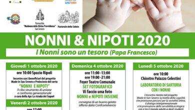Photo of DA GIOVEDI' 1 OTTOBRE LA FESTA DEI NONNI & NIPOTI 2020 – I NONNI SONO UN TESORO (PAPA FRANCESCO).