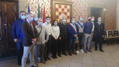 Photo of Da oggi sei nuovi agenti di Polizia Locale: hanno prestato giuramento a Palazzo Celestini.
