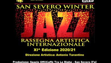 Photo of PARTE LA XIì EDIZIONE DEL SAN SEVERO WINTER JAZZ FESTIVAL 2020/21