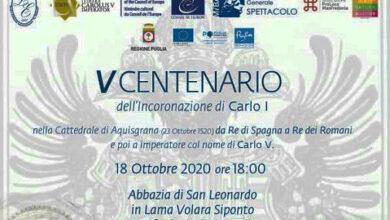 """Photo of IL CENTRO """"L. EINAUDI"""" RIEVOCA L'INCORONAZIONE DI CARLO I (V)"""