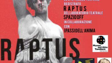 Photo of RAPTUS.  La donna dall'antichità greca e romana ad oggi.