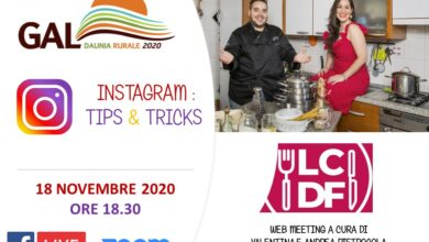 Photo of 'INSTAGRAM :TIPS & TRICKS'  web meeting del Gal Daunia Rurale