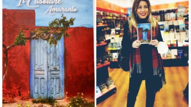 """Photo of E' in libreria """"IL CASOLARE AMARANTO"""" il primo romanzo di Annalaura Littero"""