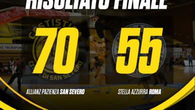 Photo of Basket: torna a vincere la Cestistica, battuta la Stella Azzurra per 70-55 nella sfida salvezza