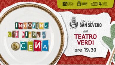 """Photo of In diretta dalTeatro VerdidiSan Severo: """"INDOVINA CHI VIENE A (S)CENA"""""""