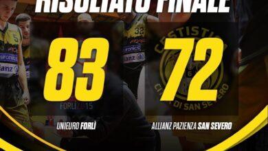 Photo of Basket: a testa alta la Cestistica perde in casa della capolista Forlì per 83-72