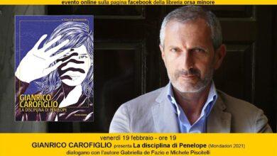 Photo of Orsa Minore: GIANRICO CAROFIGLIO presenta La disciplina di Penelope