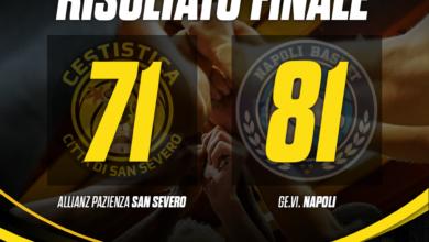 Photo of BASKET: Napoli s'impone nel finale ed espugna San Severo, la Cestistica perde 71-81
