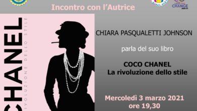 """Photo of Chiara Pasqualetti Johnson Parla del suo libro """"Coco Chanel. La rivoluzione dello stile"""""""