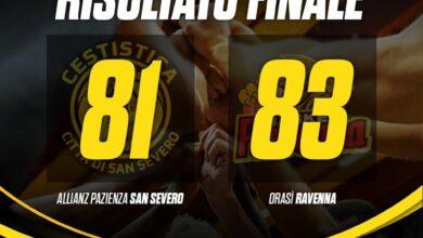 Photo of Basket: a San Severo la Cestistica ci prova fino all'ultimo ma vince Ravenna 81-83
