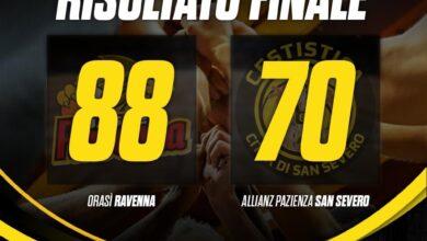 Photo of Basket: la Cestistica perde nettamente a Ravenna 88-70