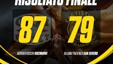 Photo of Basket: l'Allianz Pazienza San Severo cade ad Orzinuovi 87-79