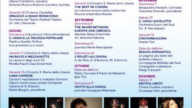 Photo of Tornano la musica e gli appuntamenti culturali degli Amici della Musica La stagione concertistica al via il 21 maggio