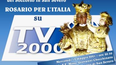 Photo of Mercoledì, 19 maggio, da San Severo, ci sarà il: Rosario per l'Italia.