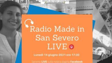 """Photo of LA RADIO WEB """"MADE IN SAN SEVERO: LA RICETTA DELLA LEGALITA'"""" OGGI SARA' LIVE"""