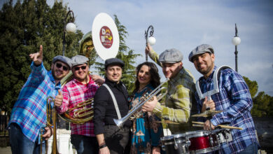 """Photo of NELLA VILLA COMUNALE VA IN SCENA  LA """"DUNE BUGGY Street Band"""""""