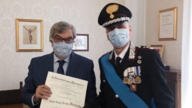 Photo of Il sanseverese Fabio Ficuciello, colonnello dell'Arma dei Carabinieri, insignito del titolo di Cavaliere della Repubblica Italiana