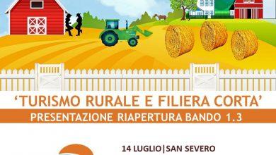 Photo of Riapertura Bando 'Turismo rurale e filiera corta'  Mercoledì 14 luglio il Gal Daunia Rurale 2020 incontra aziende agricole e tecnici