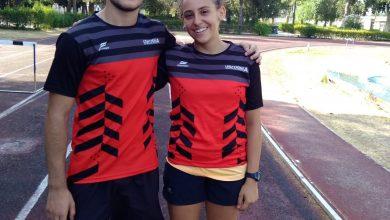 Photo of Carlo Stratagemma e Giulia Berardi, a Rieti per i Campionati Italiani di Atletica.