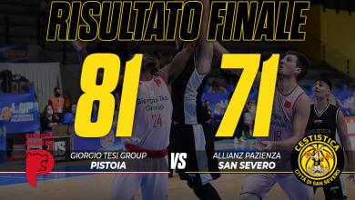 Photo of Basket: la Cestistica perde contro Pistoia in Supercoppa per 81-71, gialloneri a testa alta