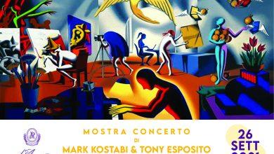 Photo of SAN SEVERO – MARK KOSTABI E TONY ESPOSITO IN MOSTRA CONCERTO ALLE CANTINE D'ARAPRI'