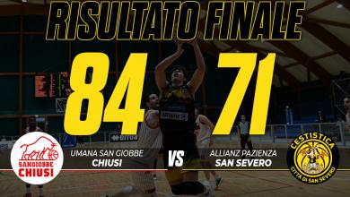 Photo of Basket: l'Allianz Pazienza San Severo perde a Chiusi 84-71
