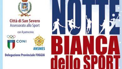 Photo of DOMENICA 17 OTTOBRE LA NOTTE BIANCA DELLO SPORT. TANTE LE ASSOCIAZIONI SPORTIVE PRESENTI.