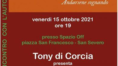 Photo of ORSA MINORE: Tony di Corcia presenta Dalida Andarsene sognando (Edizioni Clichy, 2021)